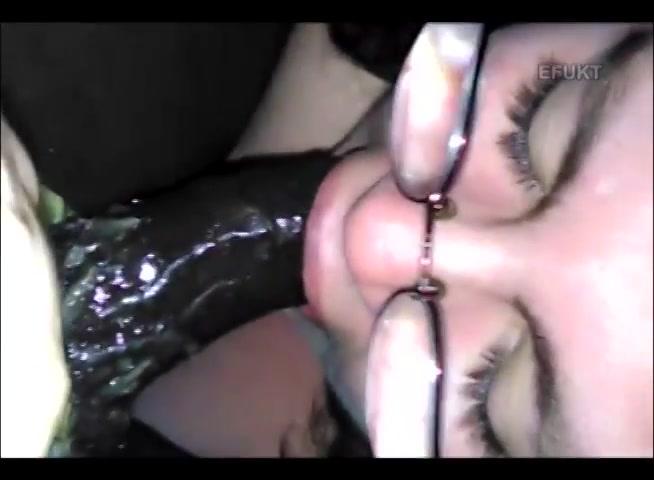 Black Girl Swallows White Cock