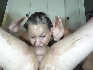 Puking blowjob